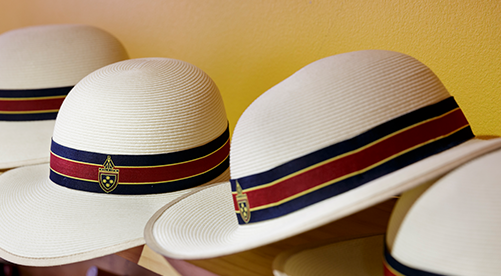 St Catherine's private school hats